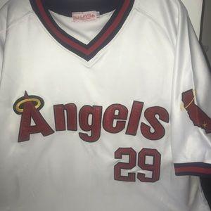 Mitchell / Ness Rod Carew California angels jersey
